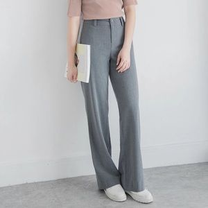Pants - Casual Pants in Gray